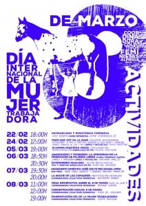 Calendario de Actividades 8M Almería