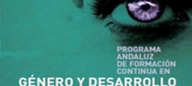 Programa de formación Género en Desarrollo