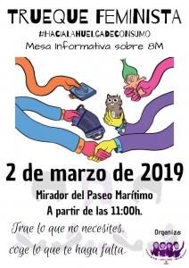 Cartel Trueque Feminista Almería