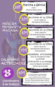 Calendario Actividades Málaga