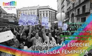 Cartel Huelga Feminista 8M Málaga